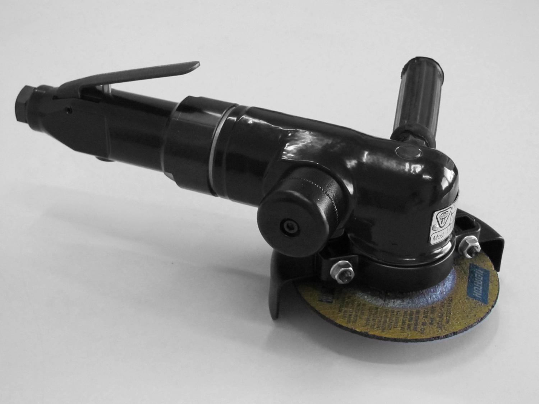 Lixadeira Pneumática Angular com Alavanca e Disco de Desbaste. LAB-412D5V